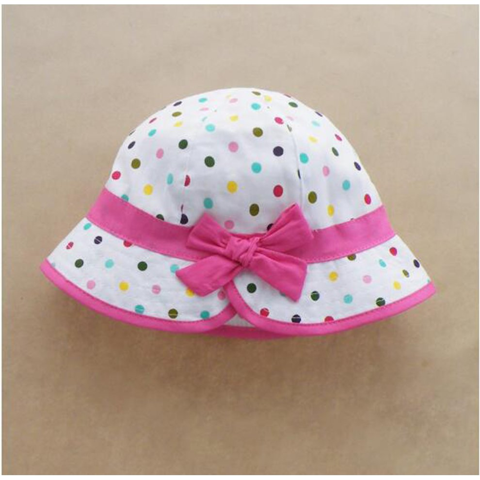 e82ca359 ... Summer Baby Girl Caps Cotton Sun Hat For 2-3 Years Baby Colors - 1. >