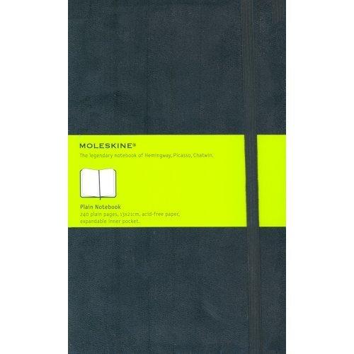 Moleskine Medium Plain Notebook