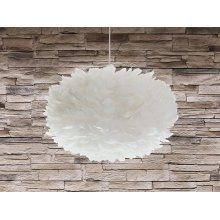 Modern Ceiling Lamp Pendant - Chandelier - White - Goose Feather - FOG