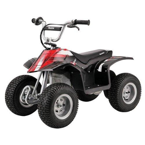 "Razor Dirt Quad Kids 12"" Wheel 24V Electric Ride On Bike 8 MPH RAZQUAD-BLA"