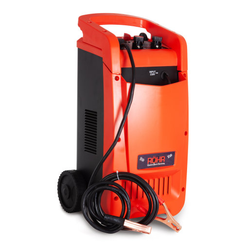 Röhr Battery Charger 100 Amp 12V / 24V DFC-650P Intelligent Turbo / Trickle with Repair, Maintain and Jump Start - HGV / Lorry / Car