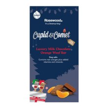 Rosewood Luxury Milk Chocolate & Orange Woof Bar | Dog-Safe Christmas Chocolate
