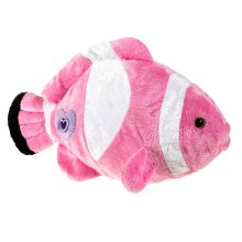 Petjes World Posh Pink Clownfish Soft Toy 30cm