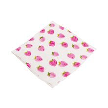 Simple Chair Cushions Stylish Square Chair Pads, Strawberry