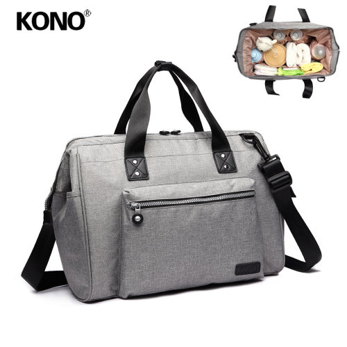 KONO Baby Changing Holdall | Nappy Change Shoulder Bag