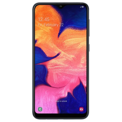 (Unlocked, Black) Samsung Galaxy A10 Dual Sim | 32GB
