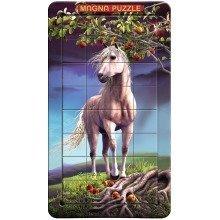 3d Magna Horse Portrait Magnetic Jigsaw Puzzle (32 Pieces)