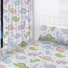 Dinosaur Curtains - 72 Inch - Bedroom Set Dinosaurs Official Product Readymade -  72 curtains bedroom set dinosaurs inch official product readymade