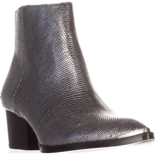 Calvin Klein Jeans Narice Ankle Boots, Silver Lizard, 4 UK