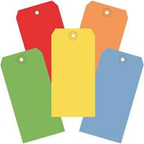Box Partners G20001 4.75 x 2.38 in. Assorted Color 13 Point Shipping Tags - Pack of 1000