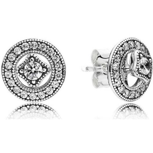 Pandora Vintage Allure Stud Earrings - 290721CZ