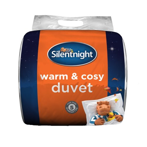 Silentnight Warm and Cosy 15 Tog, White, King