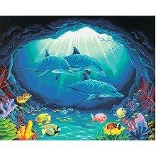 Dpw91302 - Paintsworks Paint by Numbers - Deep Sea Paradise