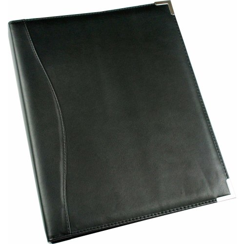 Esposti A4 Ring Binder - Leather Look - A4 - Silver Metal Corners
