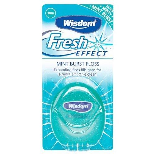 Wisdom Fresh Effect Floss 30 m - Pack of 6
