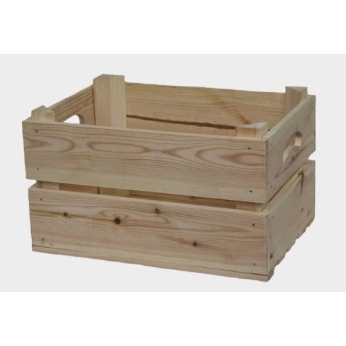 Two Bottle Wooden Box
