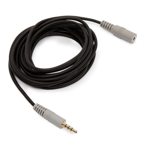 10ft 3m TRS VC1 3.5mm Minijack Stereo Extension Cable Rode Audio-Technica Canon