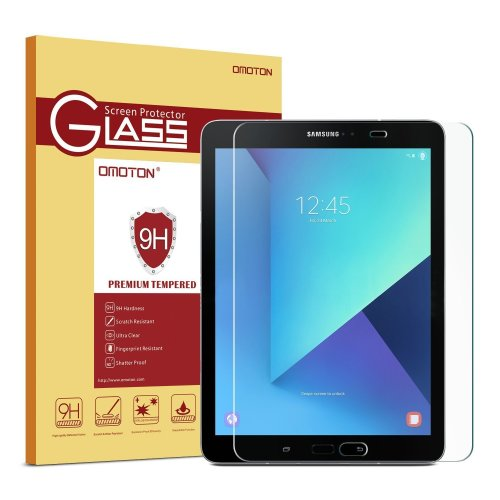 OMOTON Samsung Galaxy Tab S2/S3 9.7 Tempered Glass Screen Protector
