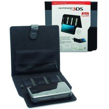 Venom Nintendo 3DS Carry All Folio Case Black - Officially Licensed