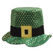 b4eb786cc52 Compare Items Similar To Beistle Company 30715 Plush Gold Shamrock Hat
