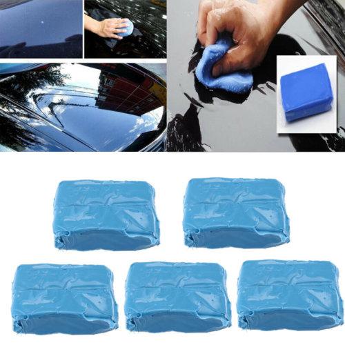 5x Clay Detailing Bar 180g Car Valeting Auto Cleaning Magic Wax Wash Sponge BEST