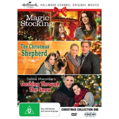 The Christmas Shepherd.Hallmark Christmas 3 Film Collection Magic Stocking The Christmas Shepherd Debbie Macomber S Dashing Through The Snow