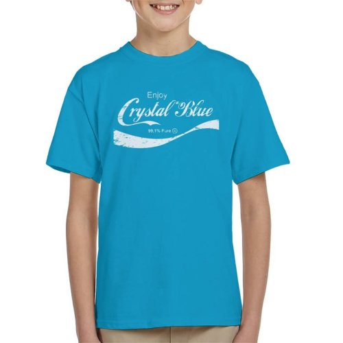 Enjoy Crystal Blue Breaking Bad Kid's T-Shirt