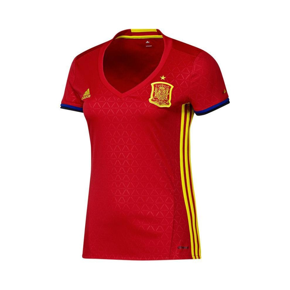 adidas Women s Spain National Football Team 16 17 Home Jersey - Red on OnBuy 938710bc9