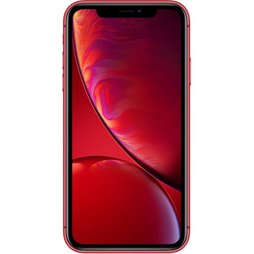 (Unlocked, 128GB) Apple iPhone XR | (Product) Red