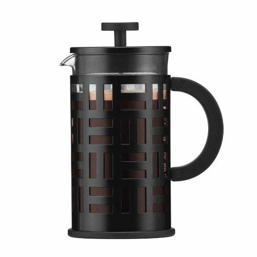 Bodum Eileen Coffee Maker Cafetiere 8 Cup 1.0L Black