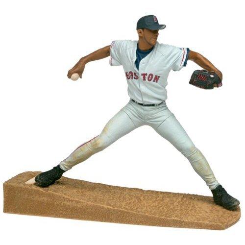 McFarlane Toys MLB Sports Picks Series 1 Action Figure Pedro Martinez (Boston Red Sox) White Jersey