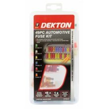 Dekton 49pc Automotive Fuse Kit - Car Auto Vehicle Insertion Removal Tool Case -  fuse 49pc car auto automotive vehicle insertion removal tool case