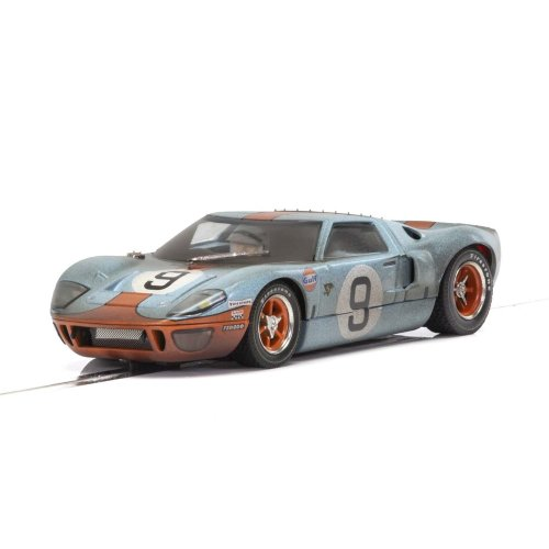 Scalextric Ford GT40 Gulf #9 Weathered