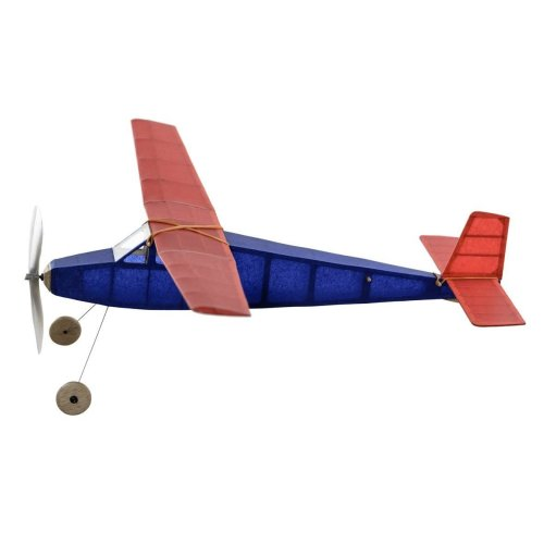Sparrowhawk complete vintage model rubber-powered balsa wood aircraft plane kit that really flies!