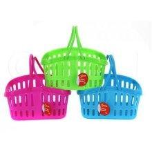 10 x 6.5' Lattice Work Basket With Handle -  lattice fruit vegetables kitchen utility basket home wash handle drain storage