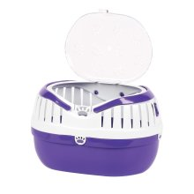 Happy Pet Small Animal Carrier Purple (36cm)