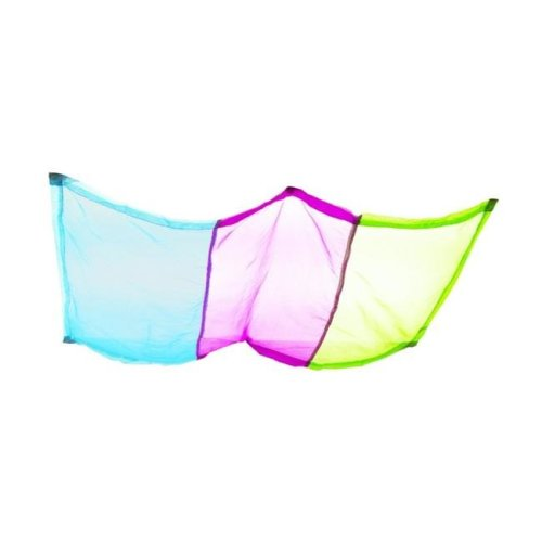 Abilitations Softening Light Filters, 54 x 24 in. - Pack of 4, Striped Green, Blue & Purple