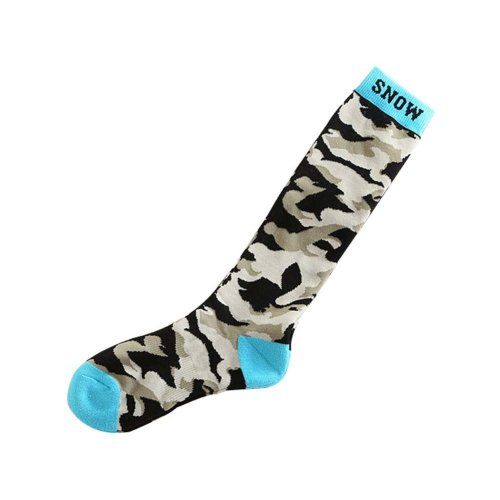 Camouflage Adult Climbing Skiing Cycling Socks for Outdoor Sport, One Size