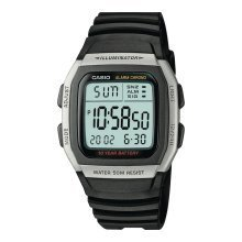 Casio Men's Digital Sports Watch | Stainless Steel & Rubber Watch