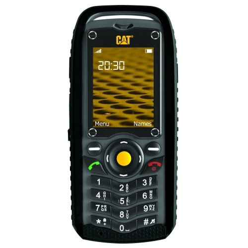 Caterpillar CAT B25 Ruggedised Smartphone Mobile Phone Dual SIM - Black (C25B-DSEE-E02-KEK)
