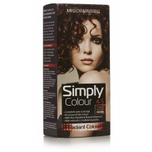3 x Mellor & Russell Simply Colour Permanent Hair Colour 4.5 Deep Red Brown