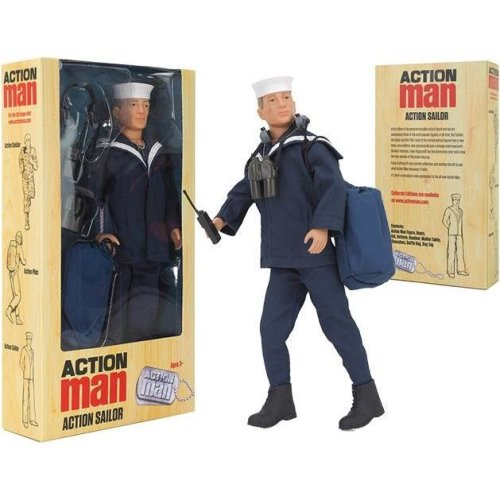 Action Man Sailor Deluxe Boxed Action Figure