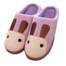 Warm & Cozy Womens Indoor Plush House Slipper, Purple