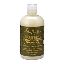 Shea Moisture Yucca & Plantain Anti-Breakage Strengthening Shampoo 13oz