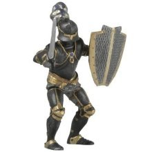 Knight In Black Armour - Papo Figure New Toy Free Armoured 39275 Armoured -  knight papo black armour figure new toy free armoured 39275 Armoured