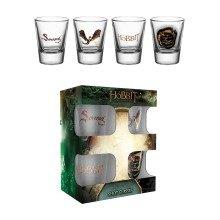 The Hobbit Battle of Five Armies Smaug Shot Glasses