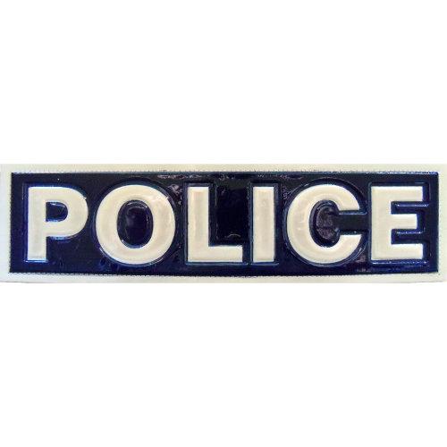 Reflective POLICE Patch -Blue-30 x 8cm
