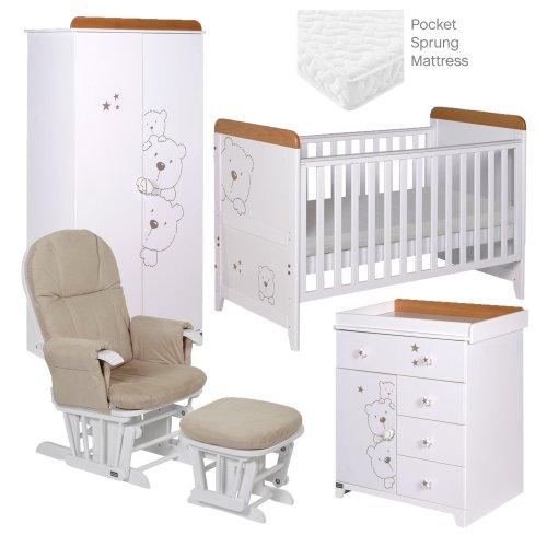 Tutti Bambini Bears 5 Piece Rooms Set