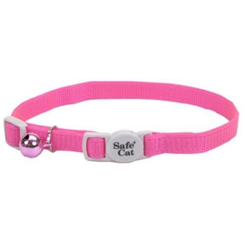 Coastal Pet 07001 A NPK12 Safecat, 12 in. Pink Cat Collar
