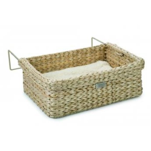 Designed By Lotte Waterhyacinth Wicker Radiator Bed 45cm